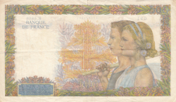 Image #2 of 500 Francs 1942 (1. X.)