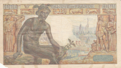 Image #2 of 1000 Francs 1943 (11. II.)