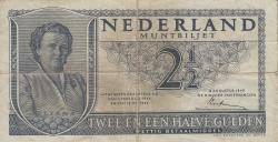 Image #1 of 2 1/2 Gulden 1949 (8. VIII.)