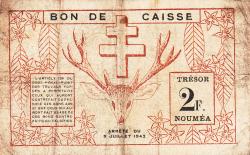 Imaginea #2 a 2 Franci 1942 (15. VII.)