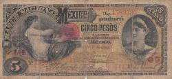 Image #1 of 5 Pesos 1905 (1. VIII.)