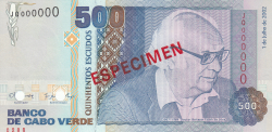 500 Escudos 2002 (1. VII.) - specimen