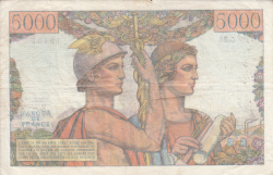 Image #2 of 5000 Francs 1949 (3. XI.)