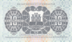 Image #2 of 10 Shillings 2018