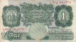 Image #1 of 1 Pound ND (1949-1955)