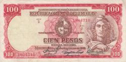 Image #1 of 100 Pesos L. 1939 - Serie D (2)