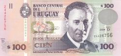 Image #1 of 100 Pesos Uruguayos 2006