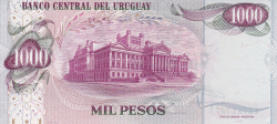 Image #2 of 1000 Pesos ND (1974) - 2