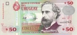 Image #1 of 50 Pesos Uruguayos 2011