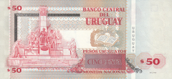 Image #2 of 50 Pesos Uruguayos 2011