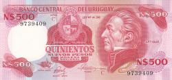 Image #1 of 500 Nuevos Pesos ND (1978)