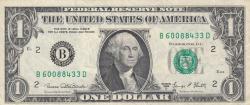 Image #1 of 1 Dollar 1969D - B