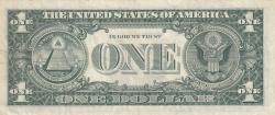 Image #2 of 1 Dollar 1969D - B