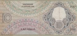 Imaginea #2 a 10 Gulden 1943 (13. I.)