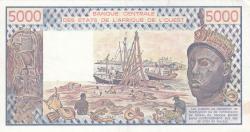 Image #2 of 5000 Francs 1982
