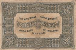 Imaginea #2 a 500 Korona 1920 (1. I.)
