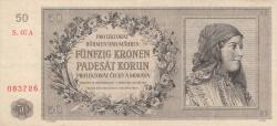 Imaginea #1 a 50 Korun 1944 (25. IX.)