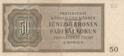 Imaginea #2 a 50 Korun 1944 (25. IX.)