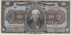 Image #1 of 10 Pesos 1915