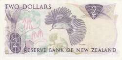 Image #2 of 2 Dollars ND (1989-1992)