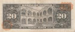 Image #2 of 20 Pesos 1970 (22. VII.)