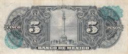 Image #2 of 5 Pesos 1959 (20. V.)