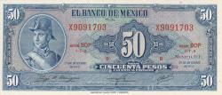 Image #1 of 50 Pesos 1972 (29. XII.) - Serie BOP