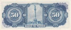 Image #2 of 50 Pesos 1972 (29. XII.) - Serie BOP