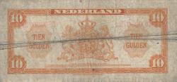 Image #2 of 10 Gulden 1943 (4. II.)
