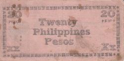 Image #2 of 20 Pesos 1944 - C2
