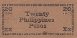 Image #2 of 20 Pesos 1944 - D1