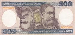 Image #2 of 500 Cruzeiros ND (1981)