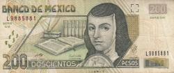 Image #1 of 200 Pesos 2007 (14. V.)