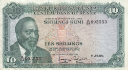 Image #1 of 10 Shillings 1972 (1. VII.)