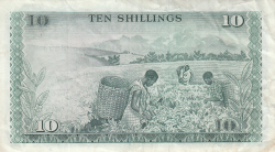 Image #2 of 10 Shillings 1972 (1. VII.)