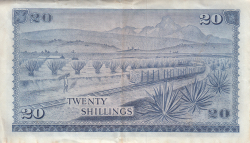 Image #2 of 20 Shillings 1972 (1. VII.)