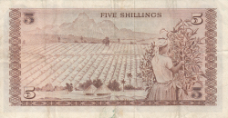 Image #2 of 5 Shillings 1972 (1. VII.)