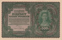Image #1 of 500 Marek 1919 (23. VIII.) -  II Serja