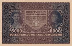Image #1 of 5000 Marek 1920 (7. II.) - III Serja