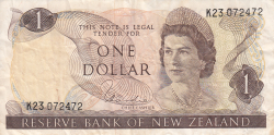 Image #1 of 1 Dollar ND (1977-1981)