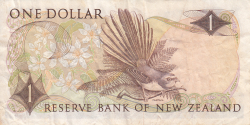 Image #2 of 1 Dollar ND (1977-1981)