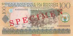 Imaginea #1 a 100 Francs 2003 (1. IX.) - SPECIMEN
