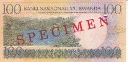 Image #2 of 100 Francs 2003 (1. IX.) - SPECIMEN