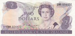 Image #1 of 2 Dollars ND (1985-1989)