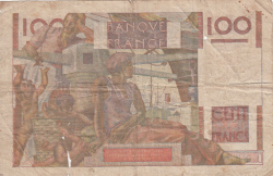 Image #2 of 100 Francs 1952 (2. X.)