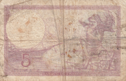 Image #2 of 5 Francs 1939 (10. VIII.)