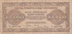 Image #1 of 100,000 Marek 1923 (30. VIII.)