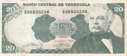 Imaginea #1 a 20 Bolivares 1989 (7. IX.)