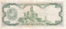Imaginea #2 a 20 Bolivares 1989 (7. IX.)