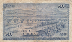Image #2 of 20 Shillings 1969 (1. VII.)